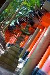 Lantern, Inari Temple, Kyoto, Japan