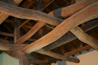 Beams, Hikone Castle, Hikone, Japan