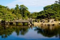 Gardens, Hikone Castle, Hikone, Japan