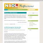 NSDL Reflections