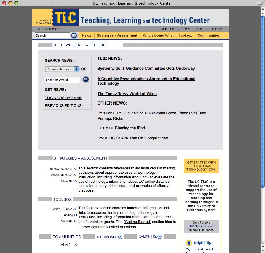 UC TLtC