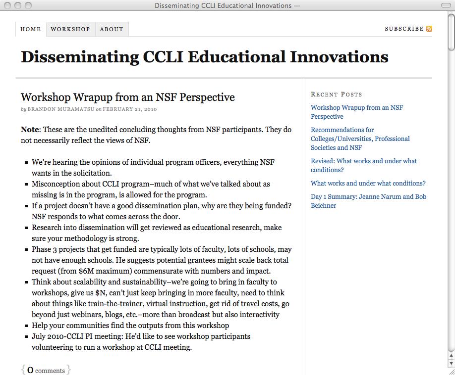 NSDL CCLI Dissemination