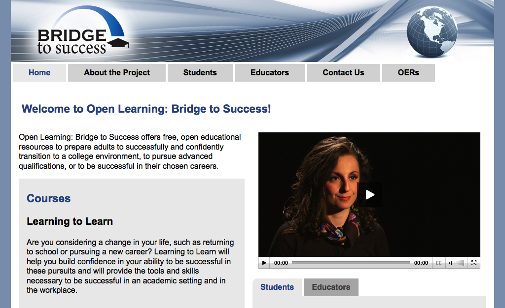 Bridge to Success Website