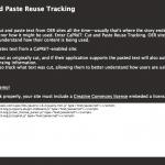 CaPRéT: Cut and Paste Reuse Tracking Tool Website