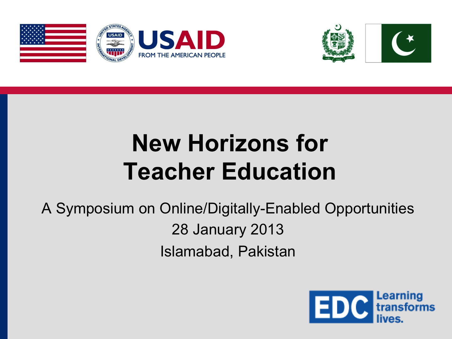 EDC-Pakistan Online Teacher Education