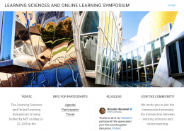 Learning Sciences and Online Learning Symposium