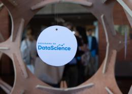 Program in Data Science Logo in Sculpture